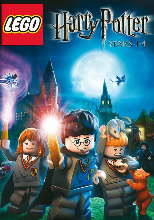 Lego Harry Potter: Années 1 à 4 - Cover / Packshot