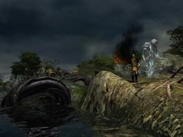 Screenshot1 - Silverfall: Wächter der Elemente