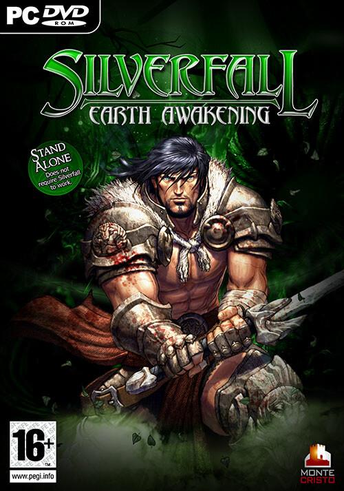 Silverfall: Earth Awakening - Cover