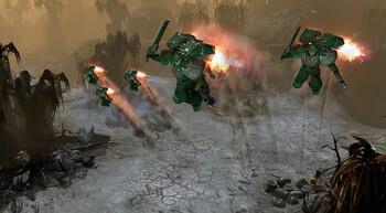 Screenshot1 - Warhammer 40,000: Dawn of War II Retribution - Dark Angels