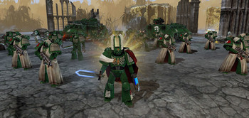 Screenshot2 - Warhammer 40,000: Dawn of War II Retribution - Dark Angels
