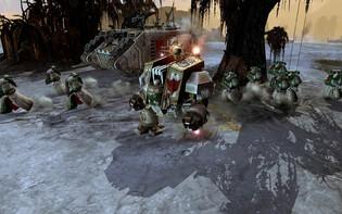 Screenshot3 - Warhammer 40,000: Dawn of War II Retribution - Dark Angels