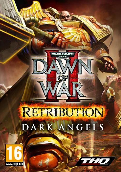 Warhammer 40,000: Dawn of War II Retribution - Dark Angels - Cover / Packshot