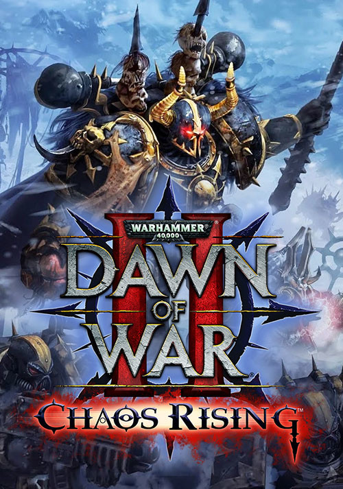 Warhammer 40,000: Dawn of War II - Chaos Rising - Cover / Packshot