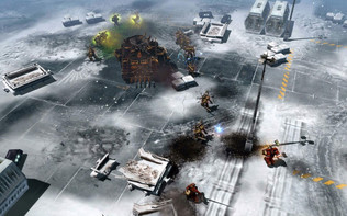 Screenshot2 - Warhammer 40,000: Dawn of War II - Chaos Rising