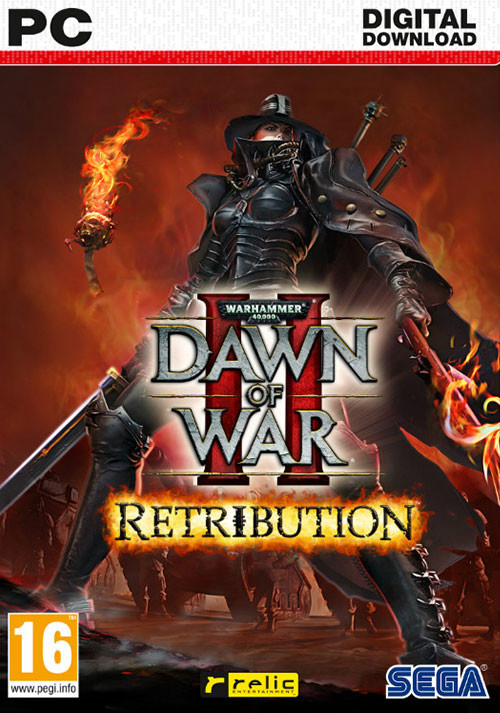 Warhammer 40,000: Dawn of War II - Retribution - Cover / Packshot