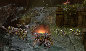 Screenshot1 - Warhammer 40,000: Dawn of War II - Retribution
