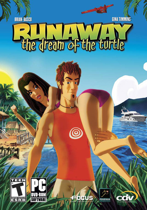 Runaway 2: The Dream of the Turtle - Cover