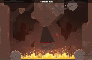 Screenshot1 - Super Meat Boy