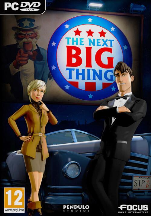 The Next Big Thing - Cover / Packshot