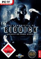 Chronicles of Riddick 2: Dark Athena - Cover