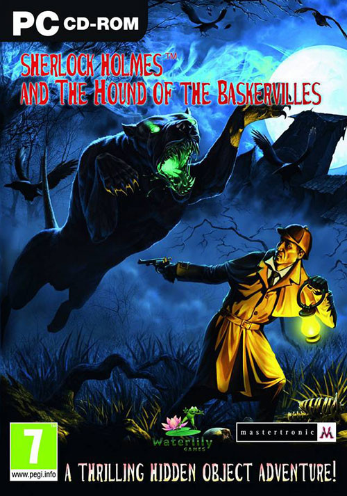 Sherlock Holmes and The Hound of The Baskervilles - Cover