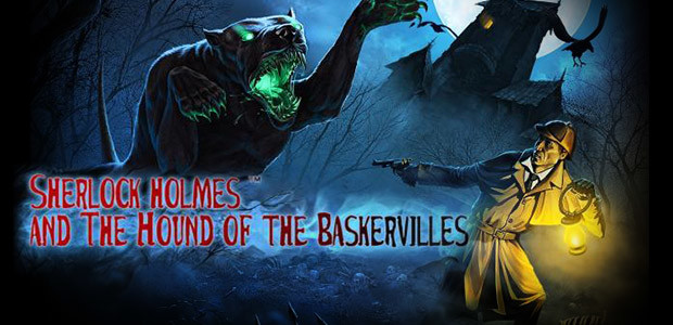 Sherlock Holmes and The Hound of The Baskervilles - Cover / Packshot