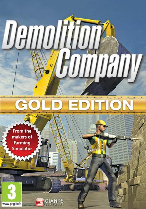 Demolition Company Gold Edition (Giants) - Cover / Packshot
