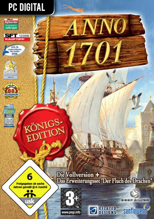 Anno 1701: Königsedition - Cover / Packshot