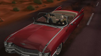 Screenshot1 - Runaway 3: A twist of Fate
