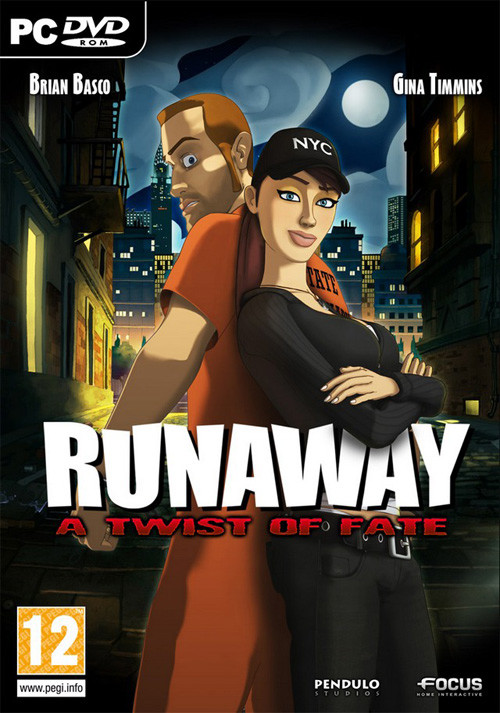 Runaway 3: A twist of Fate - Cover