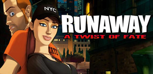 Runaway 3: A twist of Fate - Cover / Packshot