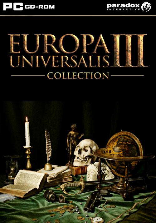 Europa Universalis III Collection - Cover