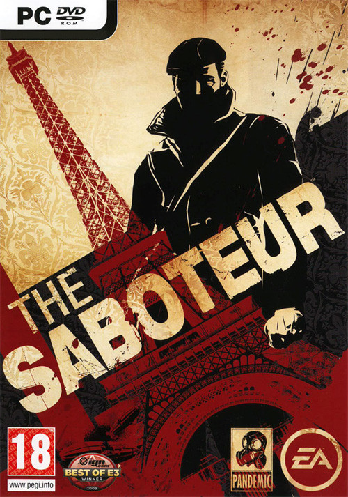 The Saboteur - Cover / Packshot