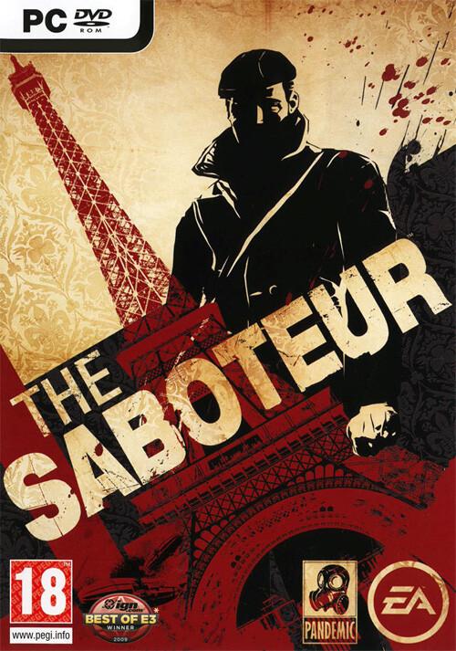 The Saboteur - Cover / Packshot