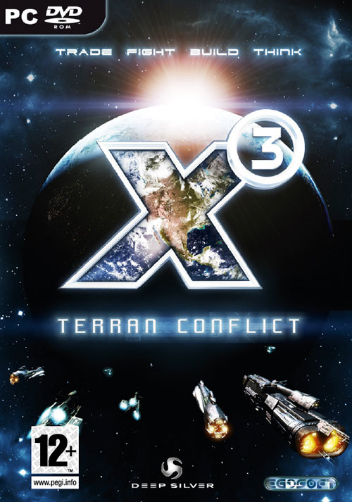 X3 Terran Conflict - Cover
