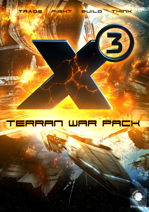 X3 Terran War Pack - Cover / Packshot