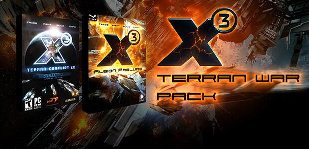 X3 Terran War Pack - Cover / Packshot