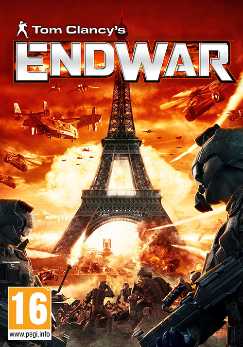 Tom Clancy's EndWar - Cover / Packshot