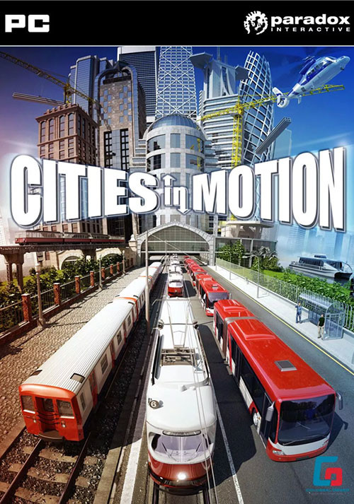 Cities in Motion - Cover / Packshot