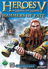 Heroes of Might and Magic V: Hammers of Fate - Cover