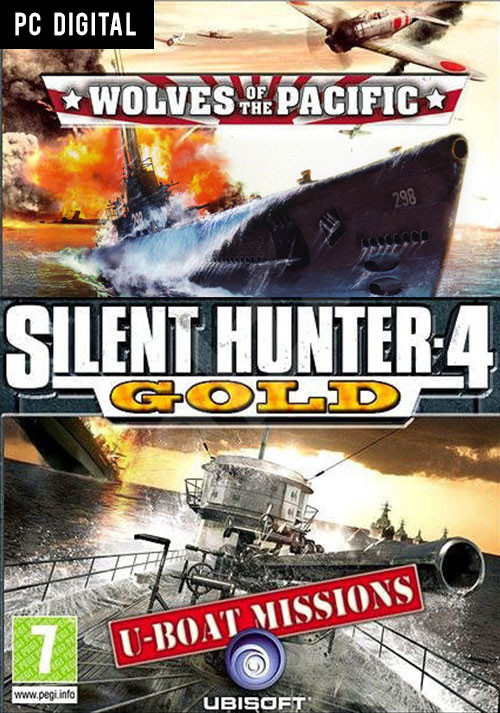 Silent Hunter 4: Gold Edition - Cover / Packshot