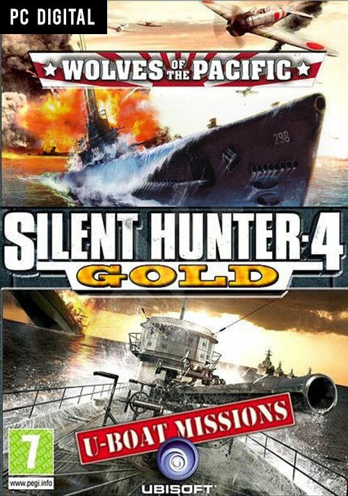 Silent Hunter 4: Gold Edition - Cover / Packshot