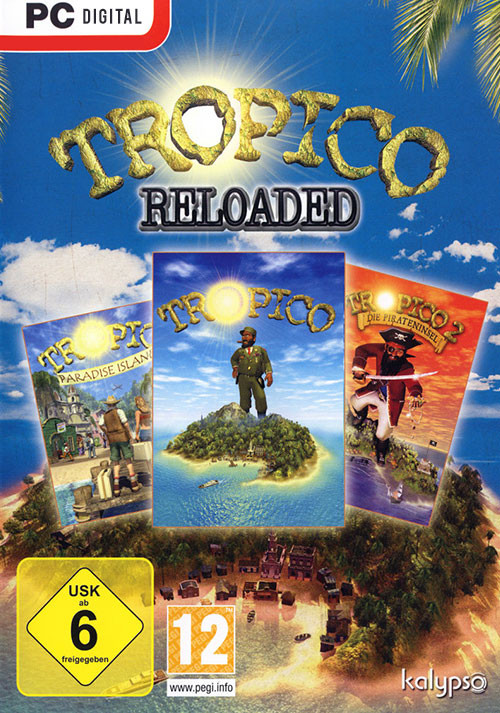 Tropico Reloaded - Cover