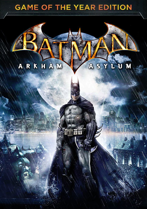 Batman Arkham Asylum: GOTY Edition - Cover