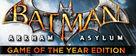 Batman Arkham Asylum: GOTY Edition
