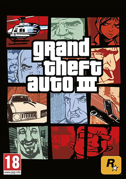 Grand Theft Auto III - Cover / Packshot