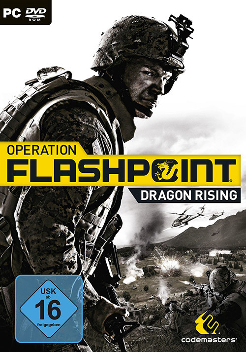 Operation Flashpoint: Dragon Rising - Cover / Packshot