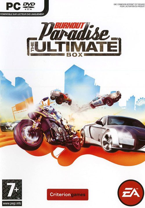 Burnout Paradise - The Ultimate Box - Cover / Packshot