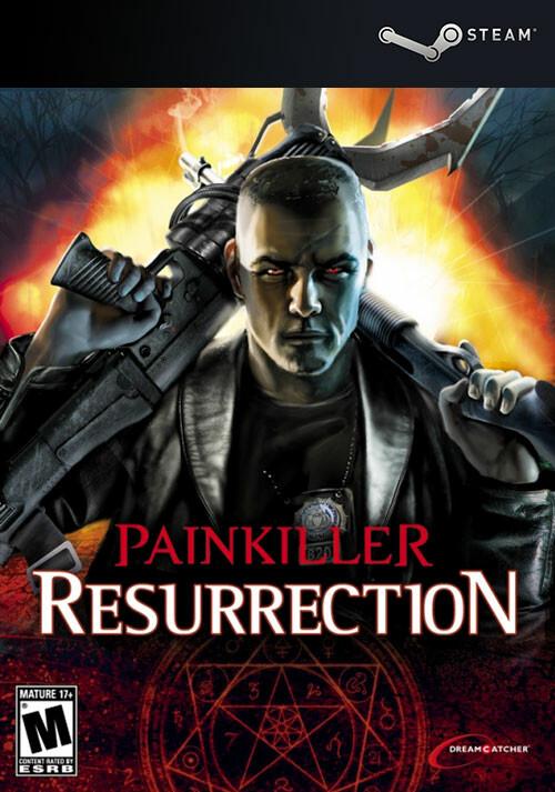 Painkiller Resurrection - Cover / Packshot
