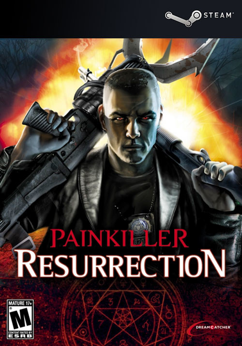 Painkiller Resurrection - Cover / Packshot