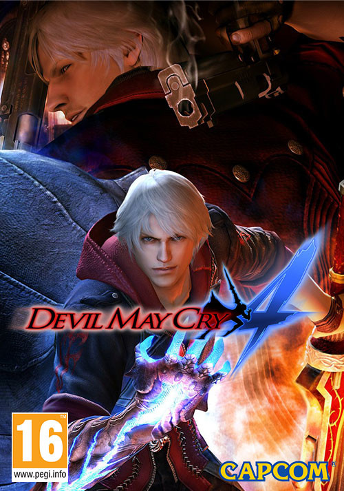 Devil May Cry 4 - Cover