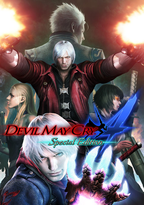 Devil May Cry 4 - Special Edition - Cover