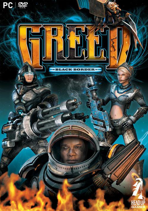 GREED: Black Border - Cover
