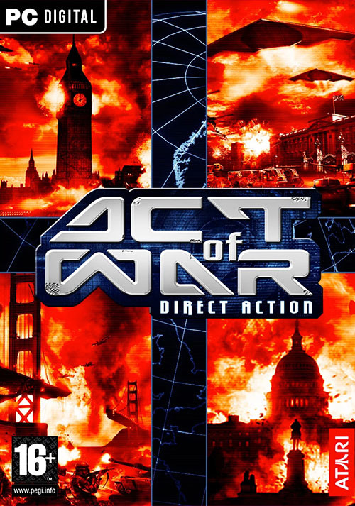 Act of War: Direct Action - Cover