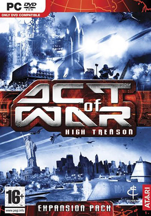 Act of War: High Treason - Cover
