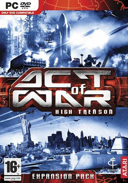 Act of War: High Treason - Cover / Packshot