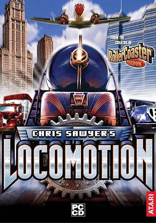 Chris Sawyer's Locomotion - Cover / Packshot