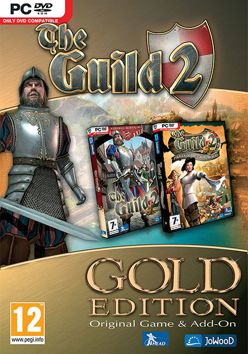 Die Gilde 2 Gold - Cover / Packshot
