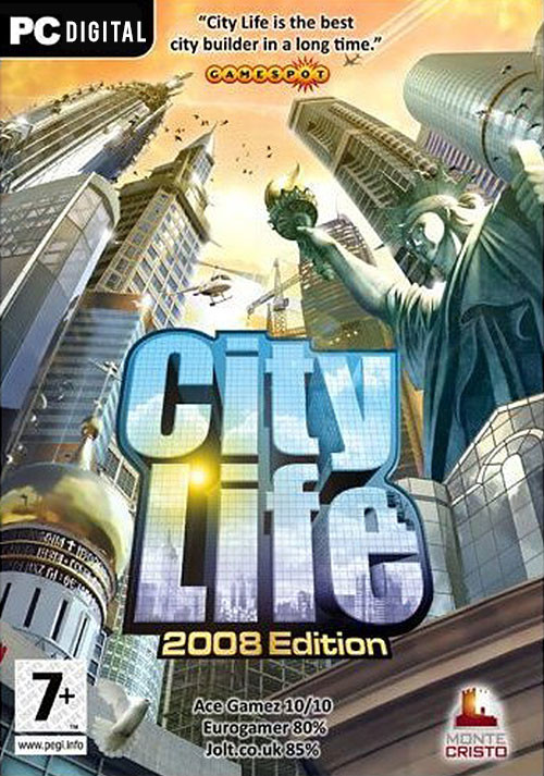 City Life Edition 2008 - Cover / Packshot